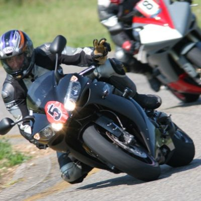 Motorrad in Action